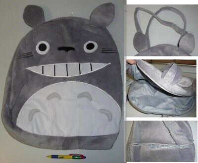 My Neighbor Totoro Fat Face Bean Bag 43x45cm Cosplay New • 11.72£