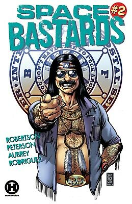 Space Bastards #2 - Bagged & Boarded • 5.99£